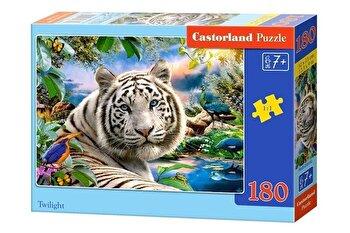 Puzzle Tigru alb, 180 piese