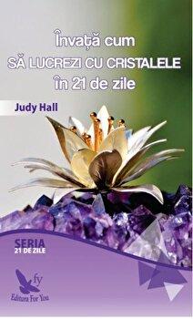 Invata cum sa lucrezi cu cristalele in 21 de zile/Judy Hall