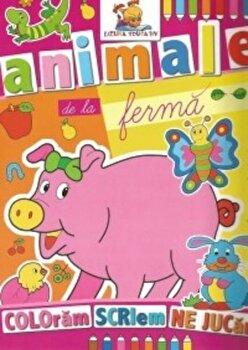 Animale de la ferma. Coloram, scriem, ne jucam/*** de la Lizuka Educativ