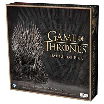 Joc Game of Thrones – Tronul de Fier de la Fantasy Flight Games