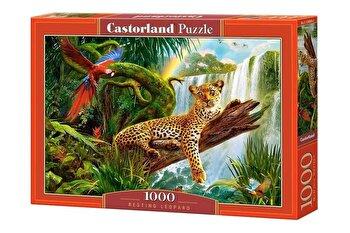Puzzle Leopard, 1000 piese de la Castorland