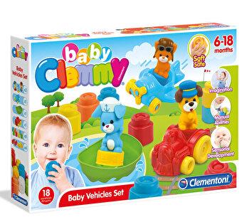 Clemmy – Primele mele vehicule de la Clementoni