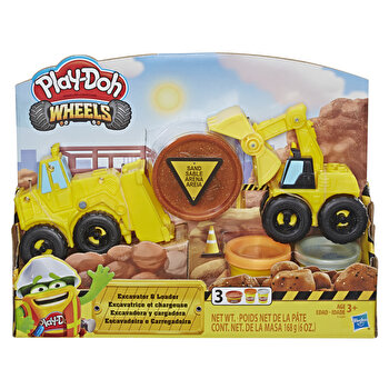 Play-Doh, Set Wheels – Excavator de la Play-Doh