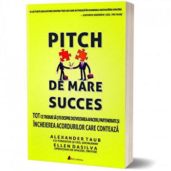 Pitch de mare succes – Tot ce trebuie sa stii despre dezvoltarea afacerii, incheierea acordurilor/Alex Taub, Ellen DaSilva de la Act si Politon