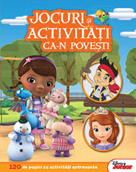 Jocuri si activitati ca-n povesti. 120 de pagini cu activitati antrenante/*** de la Litera