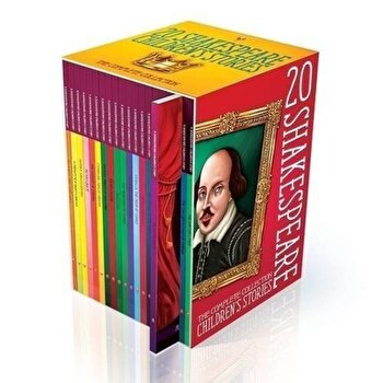 Shakespeare Children's Stories: The Complete 20 Books Boxed Collection