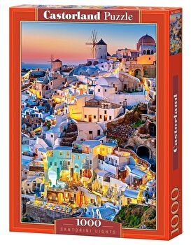 Puzzle Santorini, 1000 piese de la Castorland