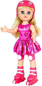 Papusa Maia pe role rochita roz de la Maia