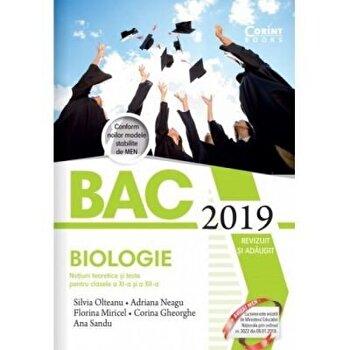 Bacalaureat 2019 – Biologie. Notiuni teoretice si teste pentru clasele a XI-a si a XII-a/*** de la Corint