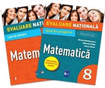 Evaluare nationala. Matematica. Ghid de pregatire. Clasa a VIII-a/*** de la Litera educational
