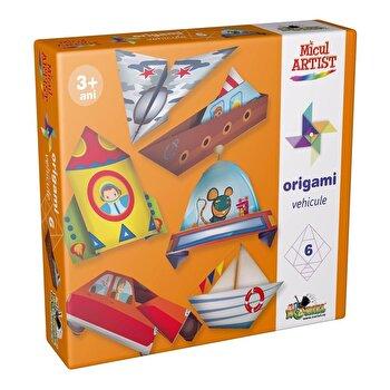 Joc creativ Micul Artist – Origami Vehicule de la Micul Artist