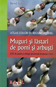 Atlas color de recunoastere: muguri si lastari de pomi si arbust/Bernd Schulz de la Mast