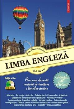 Limba engleza. Simplu si eficient (+CD)/Radu Lupuleasa, Alina-Antoanela Craciun de la Polirom
