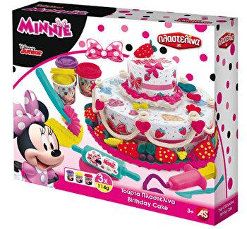 Set Tort de plastilina - Minnie Mouse