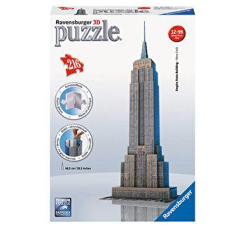 Puzzle 3D – Empire State Building, 216 piese de la Ravensburger