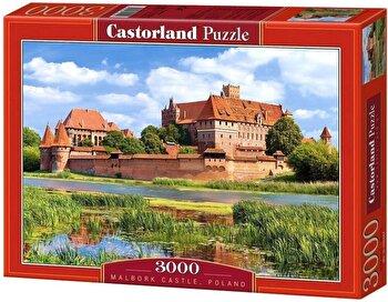 Puzzle Castelul Malbork din Polonia, 3000 piese de la Castorland