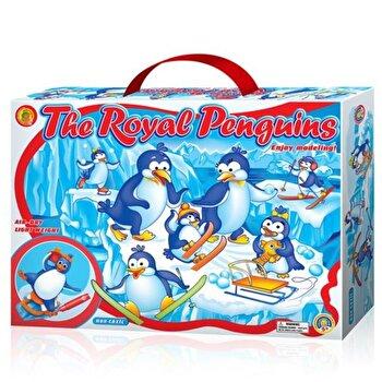 Set creatie modelaj, Royal Penguins de la Orange Elephant
