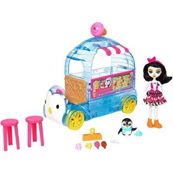 Set de joaca EnchanTimals – Furgoneta cu inghetata de la Mattel