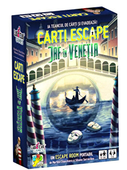Joc Carti Escape – Jaf in Venetia de la Ludicus Games
