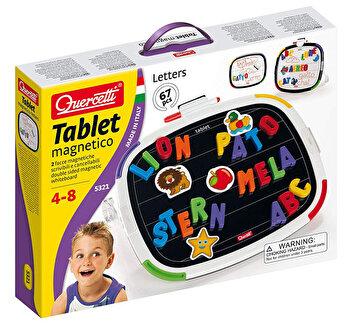 Joc creativ Tablet Magnetico Letters Basic Quercetti forme magnetice de la Quercetti