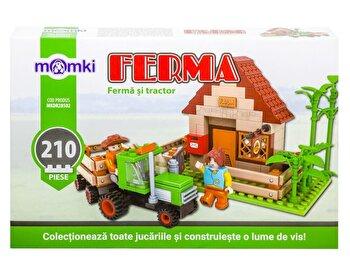 Momki – Ferma, Ferma si tractor, 210 piese de la Momki