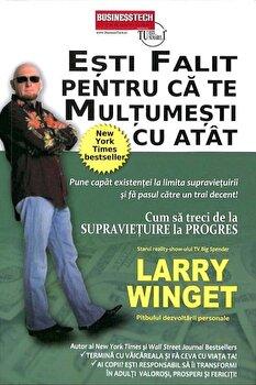 Imagine Esti Falit Pentru Ca Te Multumesti Cu Atat - Larry