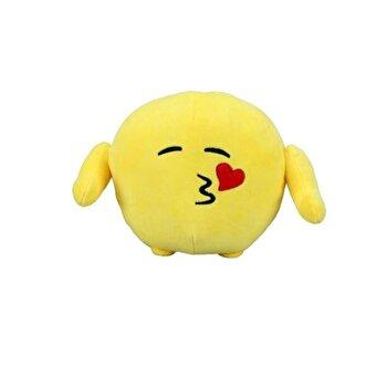 Emoji – Jucarie plus Face throwing a kiss, 18 cm de la Ilanit
