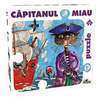 Puzzle Capitanul Miau, 54 piese de la Noriel