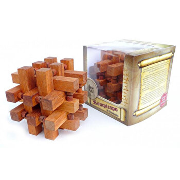 Puzzle din lemn Interlocking – Leonardo da Vinci de la Logica Giochi
