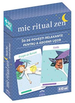 MIC RITUAL ZEN – 30 de povesti relaxante pentru a adormi usor – jetoane/Pascale Pavy de la DIDACTICA PUBLISHING HOUSE