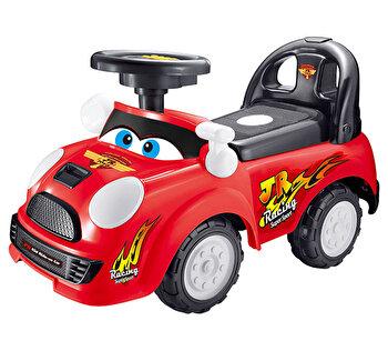 Masinuta Racing Ride-on, rosie de la Saint Toys