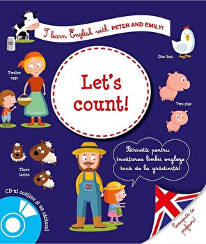 I learn english let's count/Larousse de la RAO