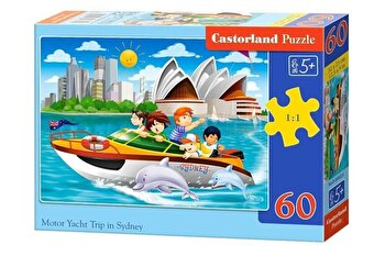 Puzzle Yacht in Sydney, 60 piese de la Castorland