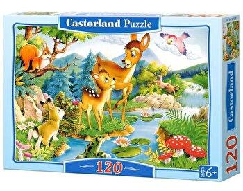 Puzzle Caprioara, 120 piese