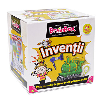 Joc Brainbox – Inventii de la Green Board Games