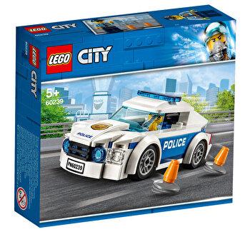 LEGO City, Masina de politie pentru patrulare 60239 de la LEGO