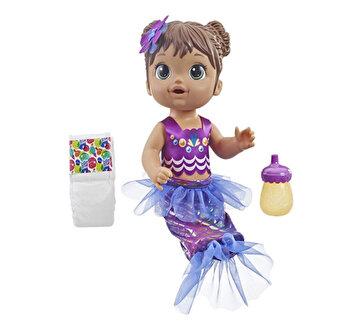 Baby Alive – Papusa interactiva Sirena Shimmer N' Splash satena de la Baby Alive