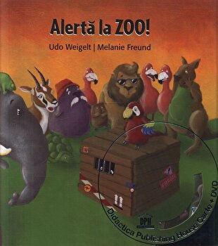 Alerta la ZOO! (Carte + DVD)/Udo Weigelt, Melanie Freund de la DPH