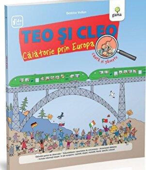 Teo si Cleo: calatorie prin Europa/*** de la Gama