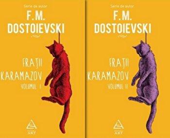 Fratii Karamazov – doua volume/F.M. Dostoievski de la Art