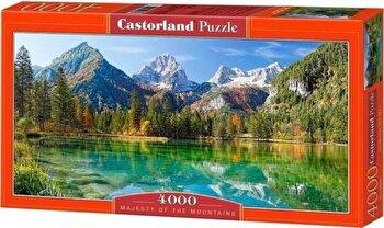 Puzzle Grandoarea muntilor, 4000 piese de la Castorland