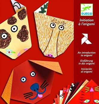 Kit origami – Animale de la Djeco