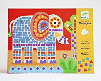 Kit creativ Mozaic – Elefantul si melcul de la Djeco