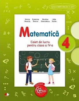 Matematica. Caiet de lucru pentru clasa a IV-a/*** de la Litera educational