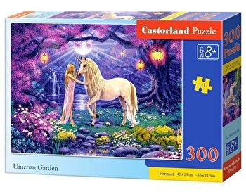 Puzzle Gradina cu Unicorni, 300 piese