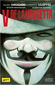 V de la vendetta 'grafic art'/Alan Moore, David Lloyd de la Grafic
