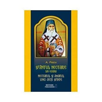 Sf. Nectarie din Eghina.Nectarul si amarul unei vieti sfinte/*** de la Meteor Press