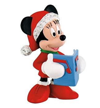 Figurina Minnie Mouse, Craciun de la Bullyland