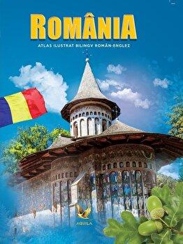 Romania. Atlas ilustrat bilingv roman-englez/*** de la Aquila `93
