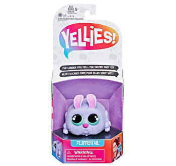 Iepuras interactiv Yellies – Fluffertail de la Yellies